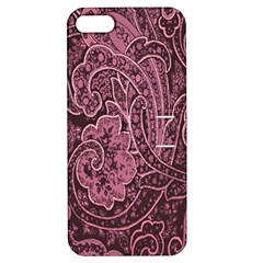 Abstract Purple Background Natural Motive Apple iPhone 5 Hardshell Case with Stand