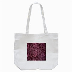 Abstract Purple Background Natural Motive Tote Bag (White)