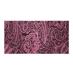 Abstract Purple Background Natural Motive Satin Wrap