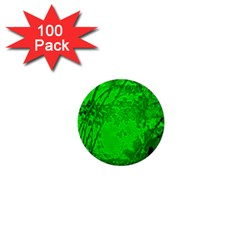 Leaf Outline Abstract 1  Mini Magnets (100 Pack)