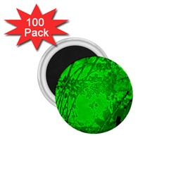 Leaf Outline Abstract 1 75  Magnets (100 Pack)