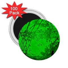 Leaf Outline Abstract 2.25  Magnets (100 pack)