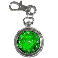 Leaf Outline Abstract Key Chain Watches