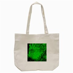 Leaf Outline Abstract Tote Bag (cream)
