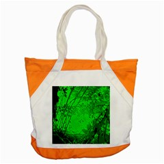 Leaf Outline Abstract Accent Tote Bag