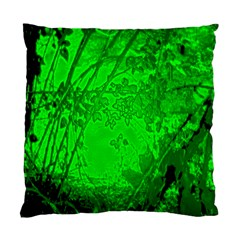 Leaf Outline Abstract Standard Cushion Case (one Side)