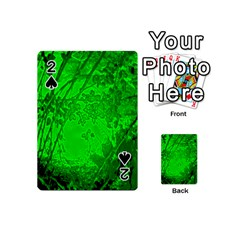 Leaf Outline Abstract Playing Cards 54 (mini)
