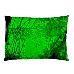 Leaf Outline Abstract Pillow Case (Two Sides)