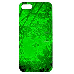 Leaf Outline Abstract Apple iPhone 5 Hardshell Case with Stand