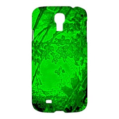 Leaf Outline Abstract Samsung Galaxy S4 I9500/I9505 Hardshell Case