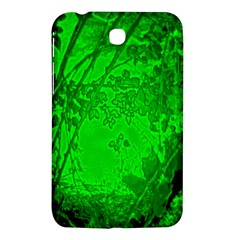 Leaf Outline Abstract Samsung Galaxy Tab 3 (7 ) P3200 Hardshell Case