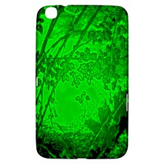 Leaf Outline Abstract Samsung Galaxy Tab 3 (8 ) T3100 Hardshell Case