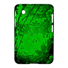 Leaf Outline Abstract Samsung Galaxy Tab 2 (7 ) P3100 Hardshell Case