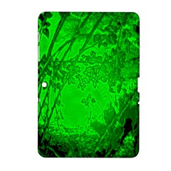 Leaf Outline Abstract Samsung Galaxy Tab 2 (10.1 ) P5100 Hardshell Case