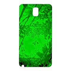 Leaf Outline Abstract Samsung Galaxy Note 3 N9005 Hardshell Back Case