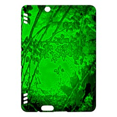 Leaf Outline Abstract Kindle Fire HDX Hardshell Case