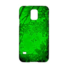Leaf Outline Abstract Samsung Galaxy S5 Hardshell Case