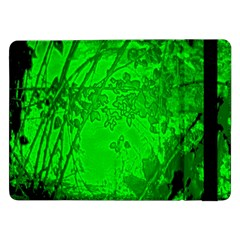 Leaf Outline Abstract Samsung Galaxy Tab Pro 12.2  Flip Case