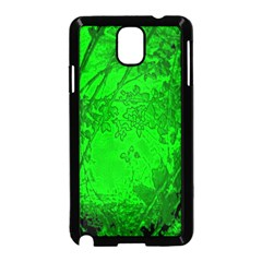 Leaf Outline Abstract Samsung Galaxy Note 3 Neo Hardshell Case (Black)