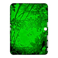 Leaf Outline Abstract Samsung Galaxy Tab 4 (10.1 ) Hardshell Case