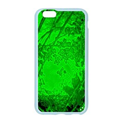 Leaf Outline Abstract Apple Seamless iPhone 6/6S Case (Color)