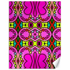 Colourful Abstract Background Design Pattern Canvas 18  X 24
