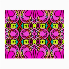 Colourful Abstract Background Design Pattern Small Glasses Cloth (2 Side)