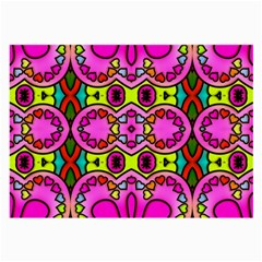 Colourful Abstract Background Design Pattern Large Glasses Cloth