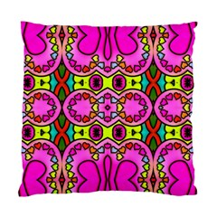 Colourful Abstract Background Design Pattern Standard Cushion Case (one Side)