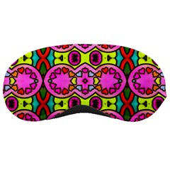 Colourful Abstract Background Design Pattern Sleeping Masks
