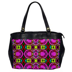 Colourful Abstract Background Design Pattern Office Handbags