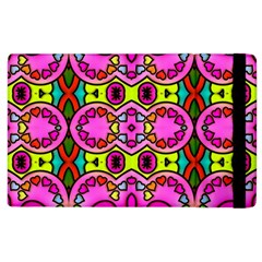 Colourful Abstract Background Design Pattern Apple iPad 3/4 Flip Case