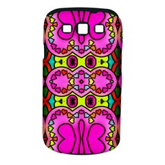 Colourful Abstract Background Design Pattern Samsung Galaxy S III Classic Hardshell Case (PC+Silicone)