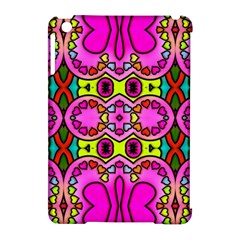 Colourful Abstract Background Design Pattern Apple iPad Mini Hardshell Case (Compatible with Smart Cover)