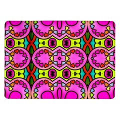 Colourful Abstract Background Design Pattern Samsung Galaxy Tab 10.1  P7500 Flip Case