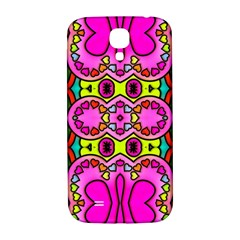 Colourful Abstract Background Design Pattern Samsung Galaxy S4 I9500/I9505  Hardshell Back Case