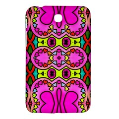Colourful Abstract Background Design Pattern Samsung Galaxy Tab 3 (7 ) P3200 Hardshell Case