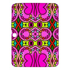 Colourful Abstract Background Design Pattern Samsung Galaxy Tab 3 (10 1 ) P5200 Hardshell Case