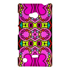 Colourful Abstract Background Design Pattern Nokia Lumia 720
