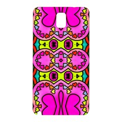 Colourful Abstract Background Design Pattern Samsung Galaxy Note 3 N9005 Hardshell Back Case