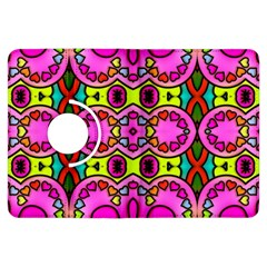 Colourful Abstract Background Design Pattern Kindle Fire Hdx Flip 360 Case