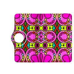 Colourful Abstract Background Design Pattern Kindle Fire HDX 8.9  Flip 360 Case