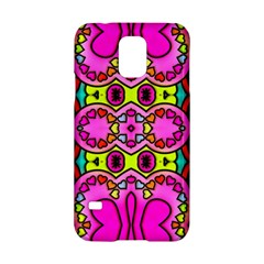 Colourful Abstract Background Design Pattern Samsung Galaxy S5 Hardshell Case