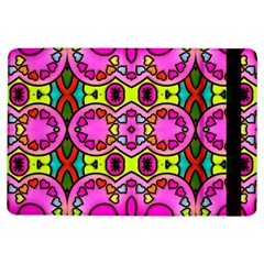 Colourful Abstract Background Design Pattern iPad Air Flip