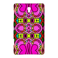 Colourful Abstract Background Design Pattern Samsung Galaxy Tab S (8.4 ) Hardshell Case