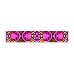 Colourful Abstract Background Design Pattern Flano Scarf (Mini)