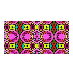 Colourful Abstract Background Design Pattern Satin Wrap
