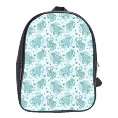Decorative Floral Paisley Pattern School Bags(large)