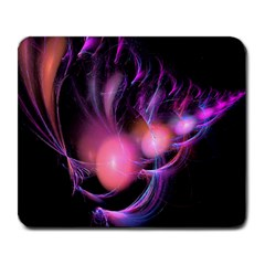 Fractal Image Of Pink Balls Whooshing Into The Distance Large Mousepads