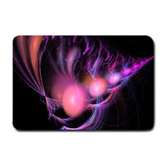 Fractal Image Of Pink Balls Whooshing Into The Distance Small Doormat